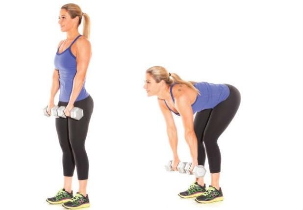 Упражнения с гантелями в домашних условиях для женщин для похудения видио