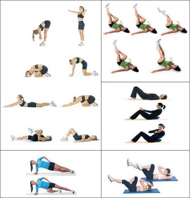 Какие упражнения надо делать для похудения живота