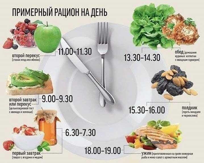 Рецепты для правильного питания на каждый день