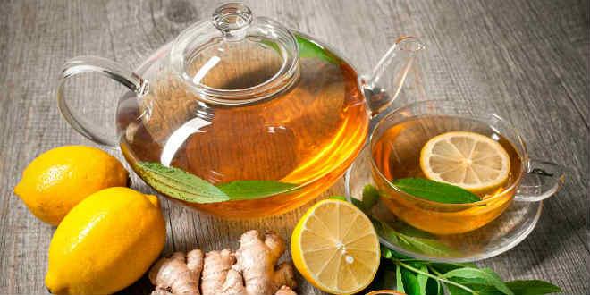 Рецепты чудодейственного чая с имбирем и лимоном для быстрого похудения