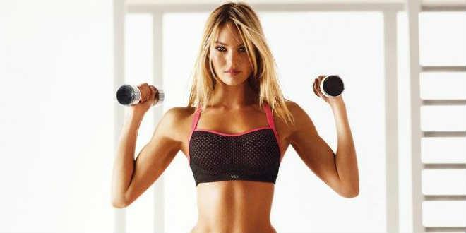 Комплекс домашних упражнений с гантелями для быстрого похудения у женщин