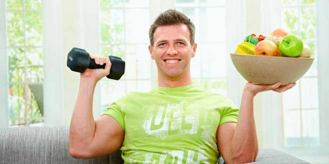 Как убрать живот и бока мужчине: правильное питание и комплекс.