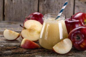 Яблочный сок помогает худеть