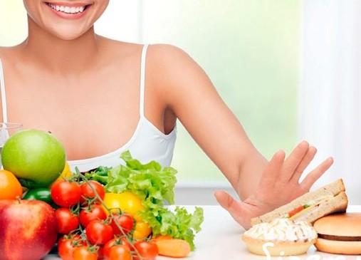Замените мучное овощами и фруктами