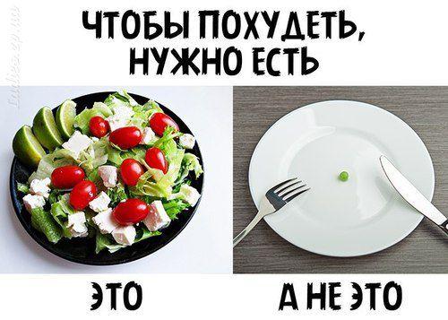 Как меньше кушать чтобы похудеть и как себя заставить