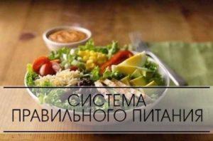 Система правильного питания