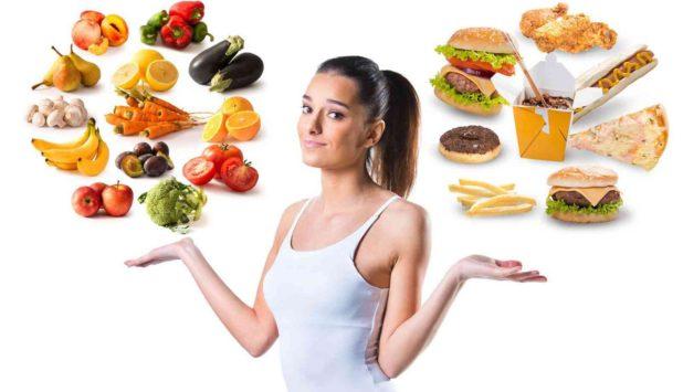 Правильное питание – залог успешного похудения