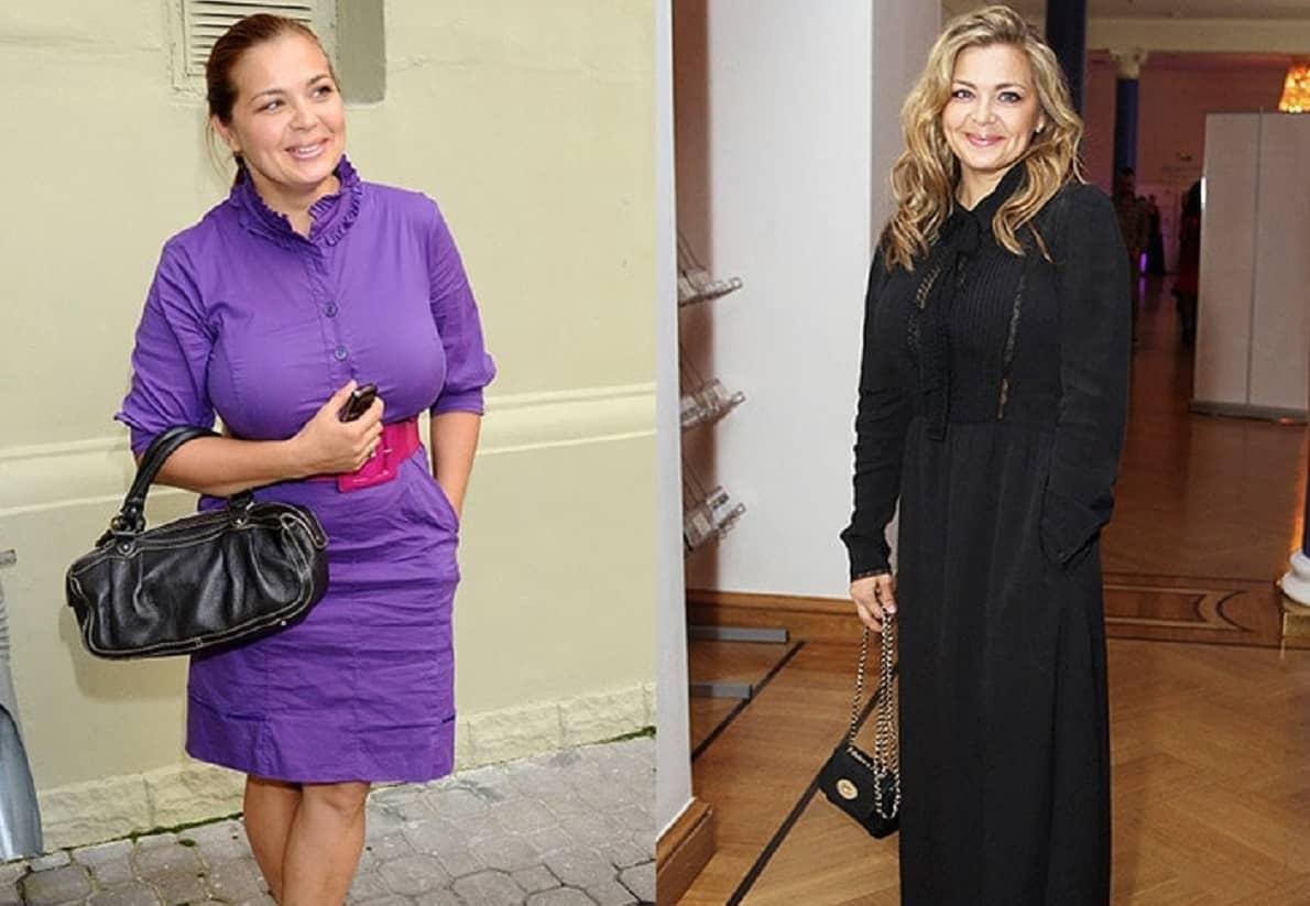 Ирина Пегова до и после похудения