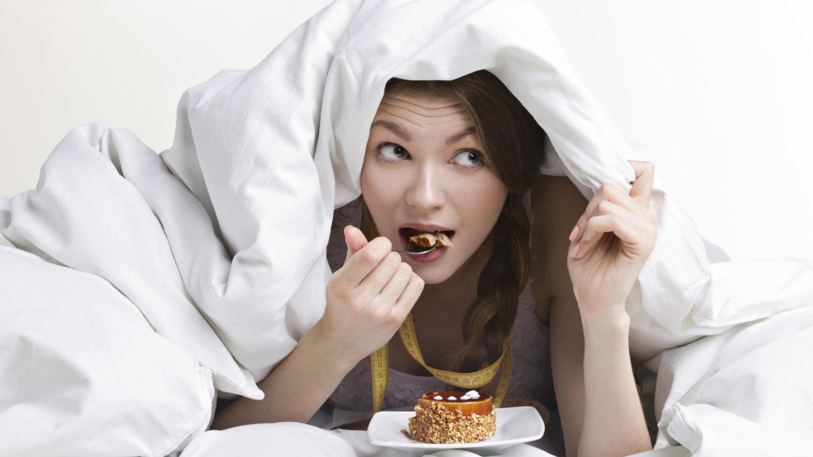 Касательно приема пищи перед сном