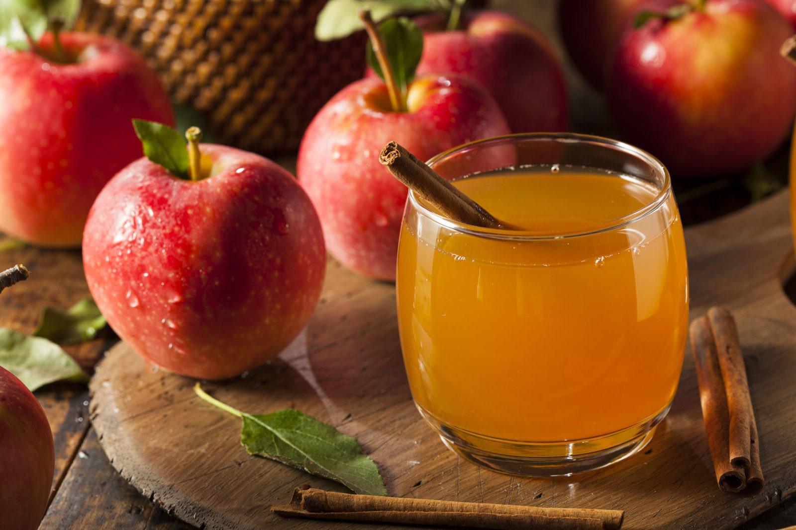 Тонкости употребления яблочного сока