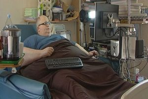 Самый толстый человек в мире Пол Мейсон