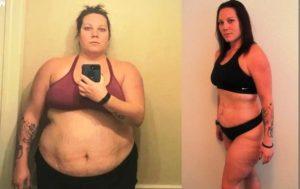 Американка Меган Маккормак похудела на 100 килограммов