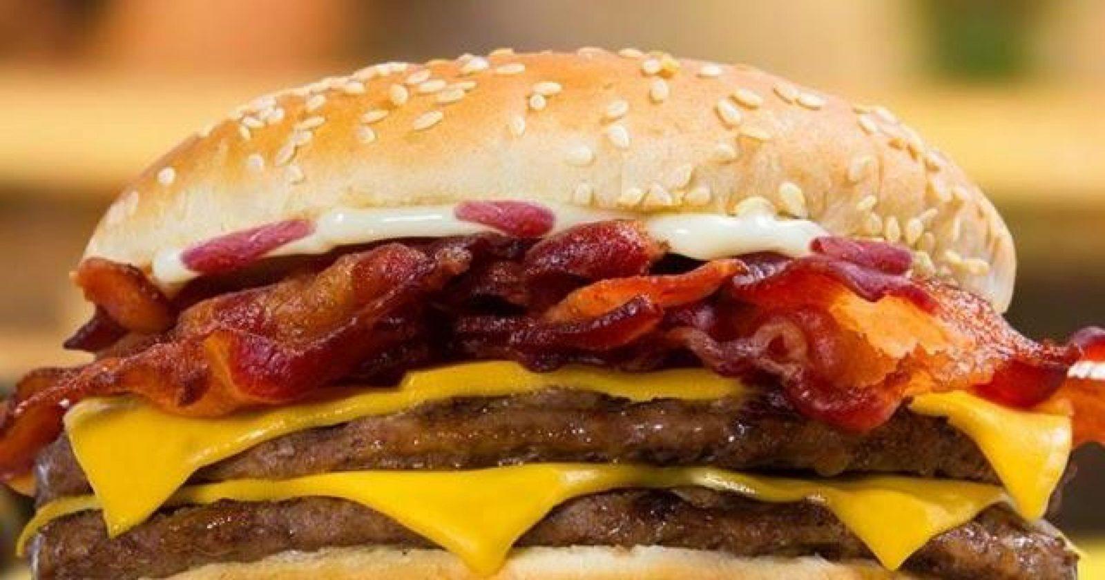 Fast food - рецепт гамбургера