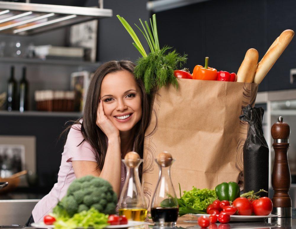 Женский рацион питания