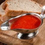 Виды соусов и аджики: горячих холодных сладких сметанных