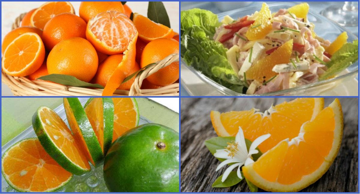 Апельсин салат